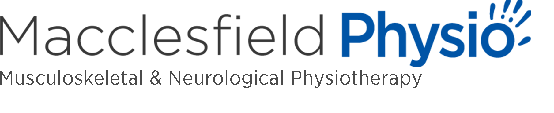 The logo for Macclesfield Physio.